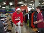 Carolina Panthers QB Cam Newton, 'Surprise Sleigh' made several stops in Charlotte (PHOTOS)