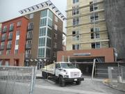 Construction crews recently wrapped up construction on 309 units at Connolly Station.