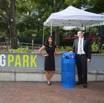 Hemming Park to begin recycling service in Downtown