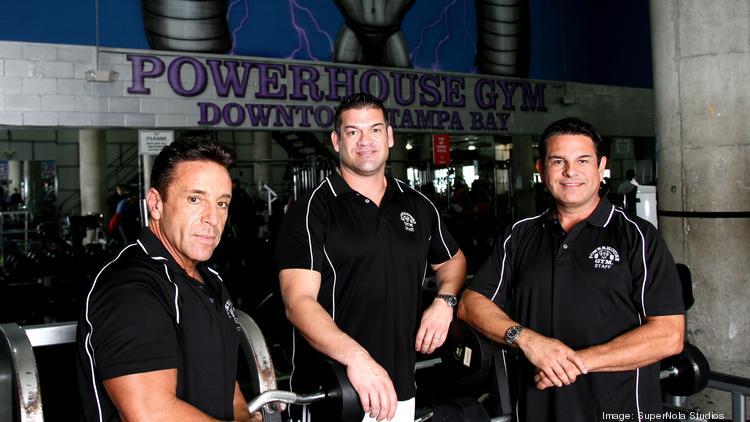John Sanguinetti, Eddy Midyett and Matt Midyett at Powerhouse Gym