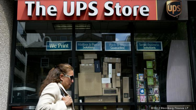 The UPS Store Inc. is offering print and delivery services from its 180 stores in Dallas and Chicago.