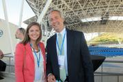 Danielle Kapitz, business manager for Cresa Milwaukee, and Steve Palec, managing partner of Cresa Milwaukee