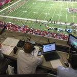 Signal-calling with the Carolina Panthers