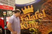 Carver says Falafel King plays up its brand on their mobile unit, which acts as a moving billboard for the brick-and-mortar locations.