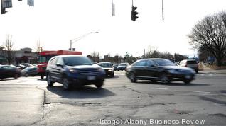 What should be done about all the traffic on Albany Shaker Road?