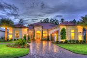 A rendering of a home in Nocatee.