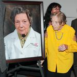 Dr. <strong>Evelyn</strong> Hess, 90, helped guide UC College of Medicine for 30 years