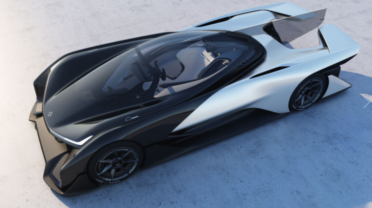 Faraday Future Says The Concept Car Dubbed Ffzero1 Could Use Four Electric Motors To Generate 1 000