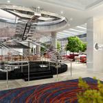 Portman reveals Hotel Indigo, JP Atlanta (SLIDESHOW)