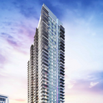 Property where 35-story apartment tower will be built sells for $12M