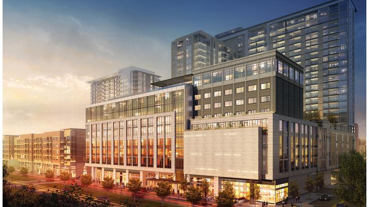 The New Hotel And Apartment Tower Will Sit Near West Village