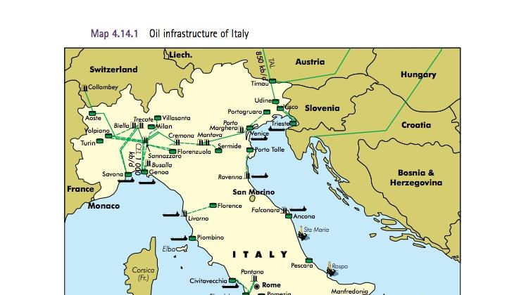 A look at Italian refineries that could receive crude oil from the ...