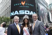 Mike Pruitt, left, took his company Chanticleer Holdings public in 2012. The firm is an international franchisee of Hooters restaurants.