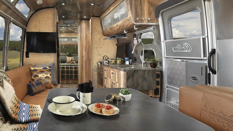 Airstream And Pendleton Woolen Mills Unveil National Parks