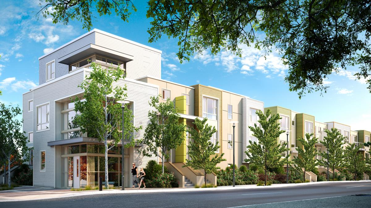 Shea S Land At Bay Meadows For New Townhome Project Called The Avenue Silicon Valley Business Journal