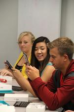 UC nursing students trade textbooks for iPads