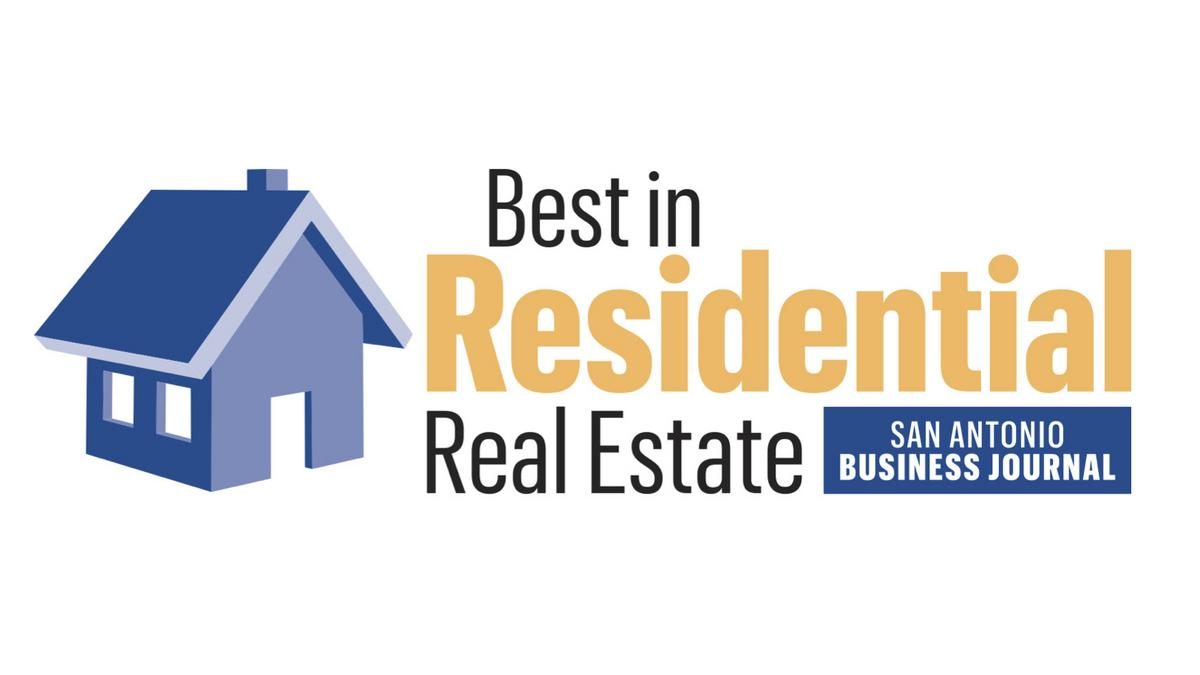Residential Real Estate : San antonio business journal taking nominations for