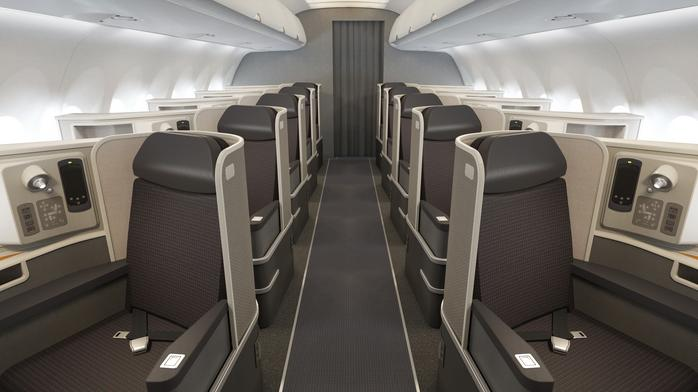 First-class flying makes way for business travel