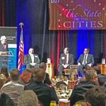 Mayors call for 'de-Brucing' Colorado at DBJ State of the Cities forum