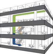 A rendering of Camden Property Trust's new floor plan.