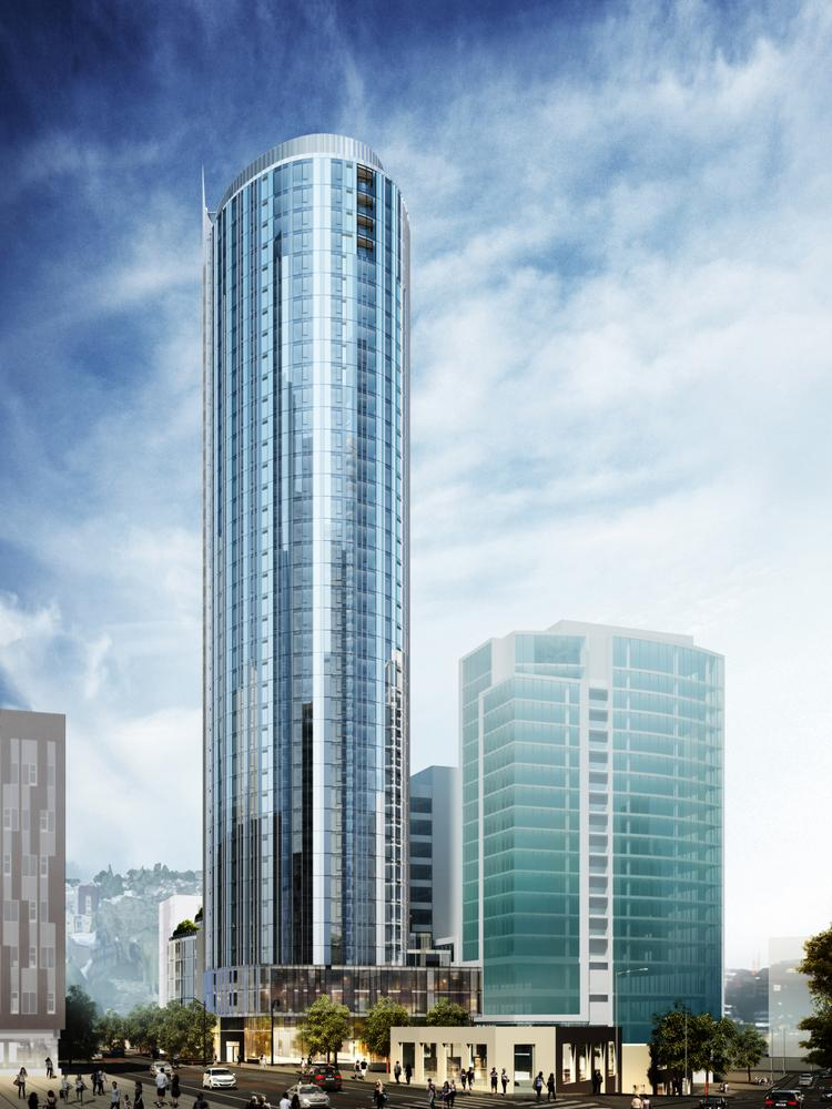 Construction Has Started On Clise Propertiesu0027 40 Story Luxury Apartment  Project At 2202 Eighth  High Rise Apartments Seattle