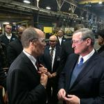 Labor Secretary, mayor talk need to invest in manufacturing in Port Richmond
