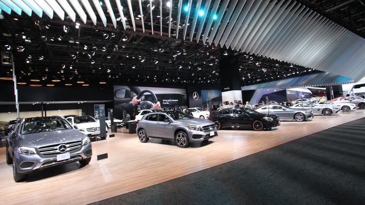 Mercedes benz usa going strong as it marks two years in for Mercedes benz north america headquarters