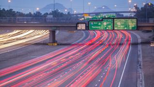 What is the most dangerous freeway in Phoenix?