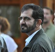 Sheikh Mohammed bin Rashid Al Maktoum, pictured here in 2011 at the Saratoga auctions. He is the ruler of Dubai. In a rare move, he did not attend this year's auctions, and dramatically cut his spending to just one horse.
