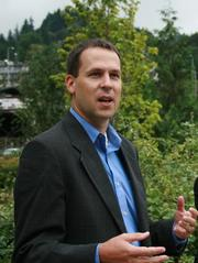 "Bobby Cochran, executive director of the Willamette Partnership, raised a very solid point. ""Everything we do today is more connected: people, economies, communication. Why aren't we looking at the environment that way?"" he asked. ""Building up our natural infrastructure, from farms to floodplains to green streets, cleans our water, stores carbon, increases local food production, and ultimately makes our communities healthier and happier."""