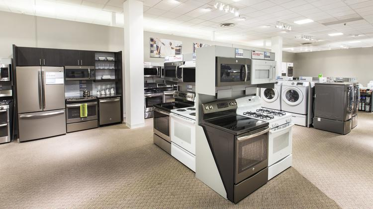 J.C. Penney re-introduced appliances in a 22-store test in January 2016.