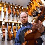 Local luthiers have their world on a string