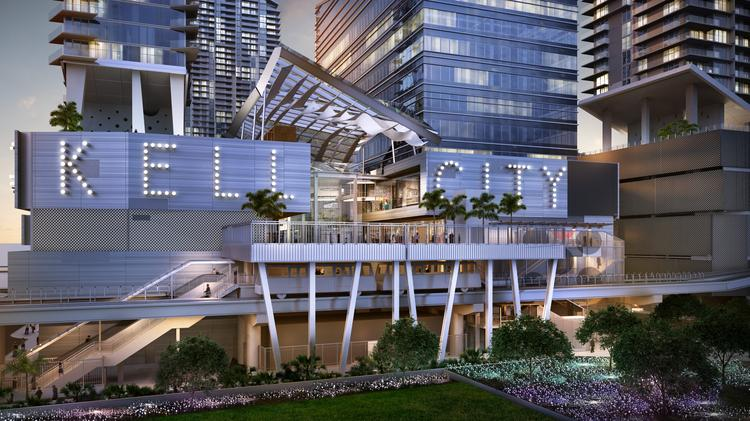 Brickell City Centre Will Occupy Nine Acres Along South Miami Avenue Between Sixth And Eighth Streets