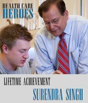 Lifetime Achievement Surendra Singh Newman University