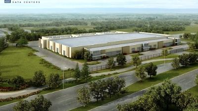 Stream Data Centers is also building this 210,000-square-foot data center in Legacy Business Park, which will have the ability to withstand 185 mph winds.