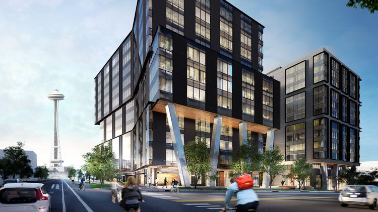 Kilroy Realty Corp. on Thursday said construction will soon start on 333 Dexter, a two-building office and retail campus planned for the South Lake Union neighborhood.