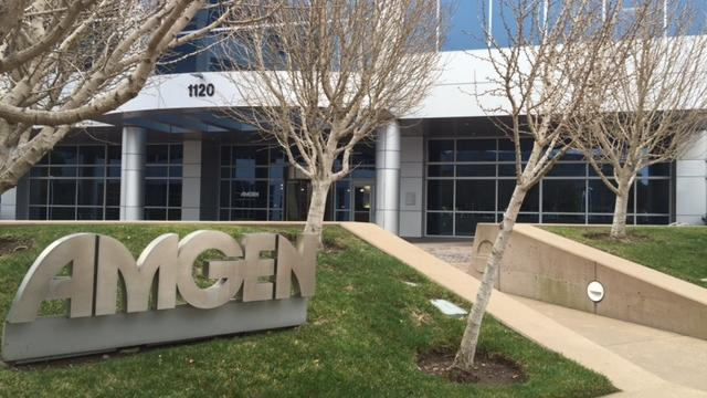 Amgen will move 100 workers to San Francisco, Cambridge as