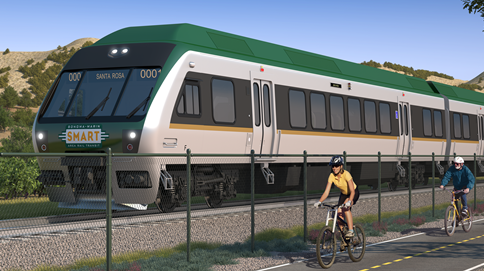 Is $400 Million SMART Train Living Up To Its Promise?   San Francisco  Business Times