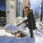 Baltimore office attendance light as employees work from home following blizzard