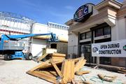 New construction at ABC Fine Wine & Spirits at 3015 W Kennedy Blvd., the same site as the existing smaller store.