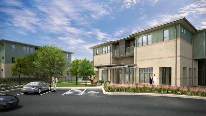 Northeast San Antonio adding 321-unit apartment complex