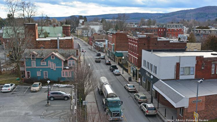 Some Banks Have Stopped Writing Mortgages In Hoosick Falls New York While The Rensselaer County