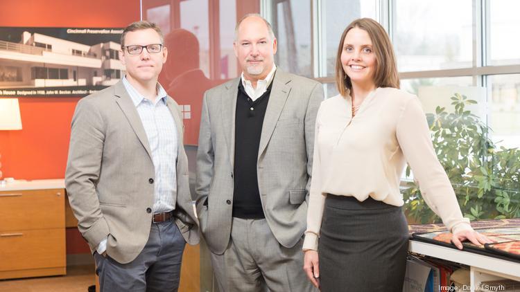 From Left, ArchitectsPlus Partners Matt Erdman, Andy Schaub And Nora Wiley  Have Taken The