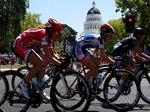 Amgen Tour offers postcard views of California -- and economic benefits