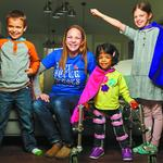 Rosenberger's TinySuperheroes capes fly into hospital gift shops