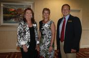 Julie High, Dena Ellis and Jeff McCormick with the City of Goodlettsville during the Sumner County Impact Awards.