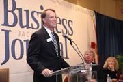 David Davis, executive vice president of commercial banking with BBVA Compass.BBVA Compass was a sponsor of the event.