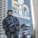 Recent French soccer bombing on the minds of Super Bowl security officials