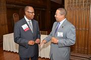 Attendees and winners at the 2013 Minority Business Leader Awards presented by the Philadelphia Business Journal at the Crystal Tea Room in Philadelphia.