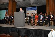 PBJ Editor Craig Ey addresses attendees at the 2013 Minority Business Leader Awards ceremony at the Crystal Tea Room in Philadelphia.